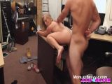 Blonde Chick Fucks For Money