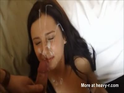 Loads Of Cum On Her Face