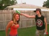 Girl Smacked With Bottle In The Head