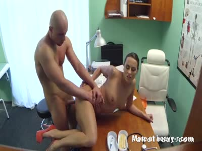 Baldheaded Guy Fucking Nurse