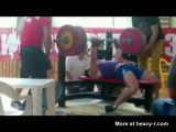 Power Lifter Freak Accident