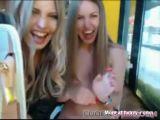 Amateur Girls Flashing In Restaurant