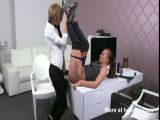 Lesbian Pussy Fucked With Cucumber