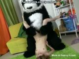 Young Girl Fucked By Panda Bear