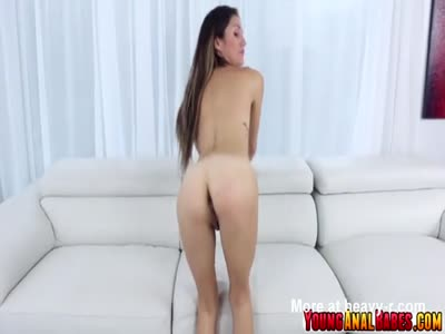 Crazy anal sex with Renee Roulette where her ass gets banged