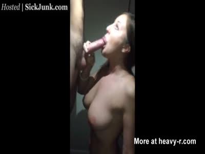 Glazing Her Boobies