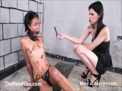 Petite Teen In Torture BDSM Play