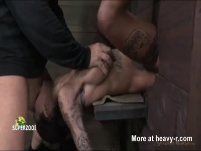 Brunette Bound Rough Abused And Tortured