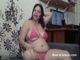Fat Bitch Dancing In Bikini