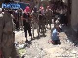 Public Execution Of 5 Men