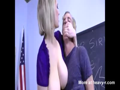 Student Forced By Teacher