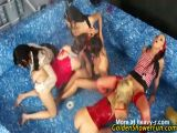 Piss orgy In Jacuzzi