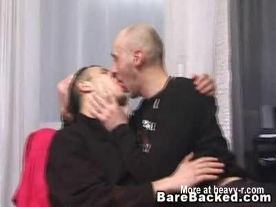 Barebacked Gays Fucking and Enjoying Sex