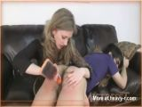 Mistress Plays with Boy's Asshole