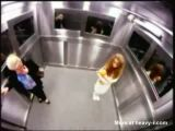 Ghost in the Elevator Prank