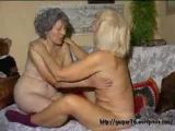 Mature women masturbating together
