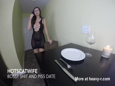 HotScatWife - BOSSY Shit and Piss DATE!