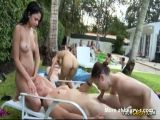 College Pool Party Orgy