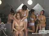 Hot Babes At Japanese Bath