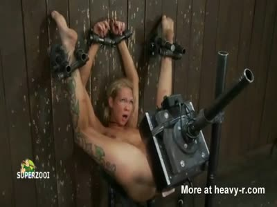 Multiple Forced Sybian Orgasms