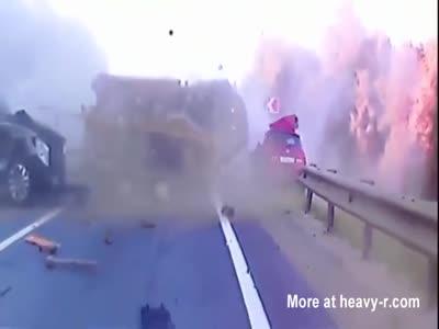 Horrific Traffic Accidents