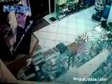 Armed Robber Receives Instant Justice