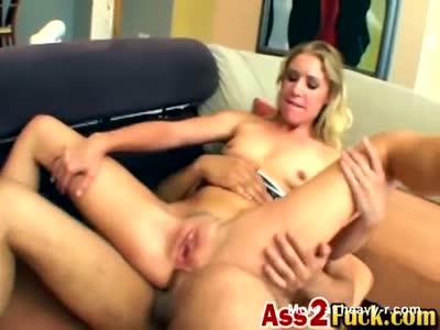 Blonde Getting Her Insides Stretched HARD