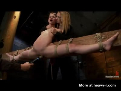Tied Up Girl Forced To Orgasm