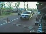 Young Girl On Scooter Brutally Crushed By Speeding Car