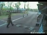 Young Girl In A Scooter Brutally Crushed By Speeding Car