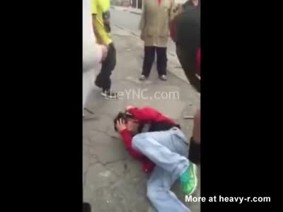 Rapist Beaten By His Victims