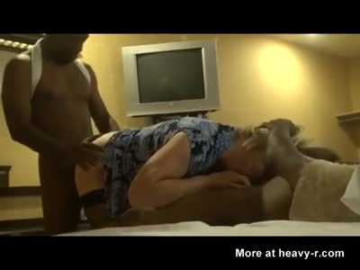 Plumper Gangbang With Blacks