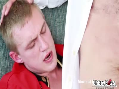 Dick swapping blowjob and hard anal fuck