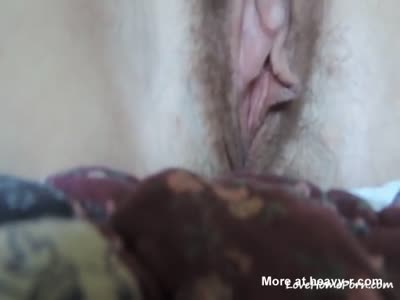 Fingering Hairy Pussy