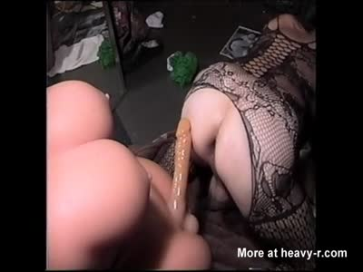 Butt Fucked from Behind by Sexflesh Tranny Doll II