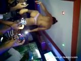 Striptease On Bar
