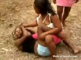 Girls from Haiti Fighting
