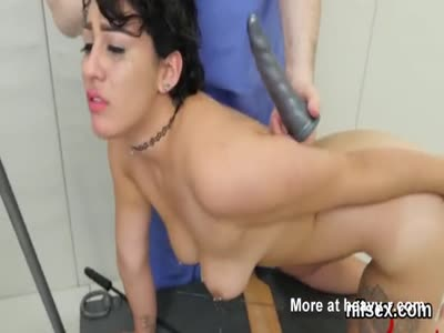 Slutty Girl Punished By Doctor For Having An STD