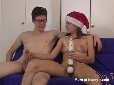 Handjob By Santa's Helper