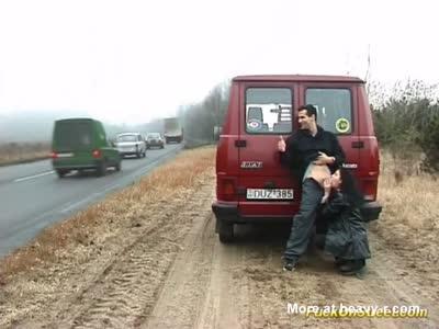 Public Fuck On Road Side