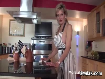 Adulterous british milf lady sonia shows her oversized puppi