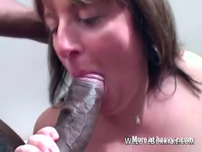 Large Breasted Mature Enjoys Black Lollipop