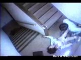 Rape of a young student captured on CCTV camera