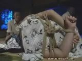 Chinese girl tied up and fucked