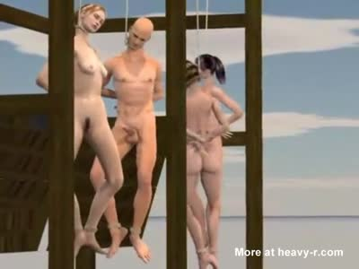 Animated Hanging Asphyxia